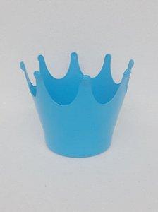 Cachepot Coroa Azul Claro - Maricota Festas
