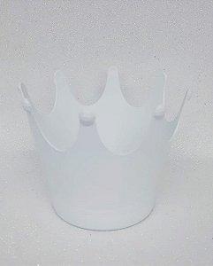 Cachepot Coroa - Branco - Unidade - Maricota Festas