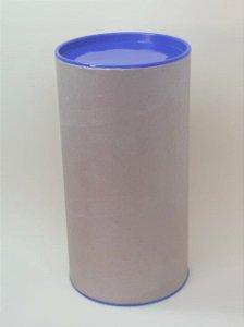 Tubo Lata Kraft Azul Escura - Maricota Festas