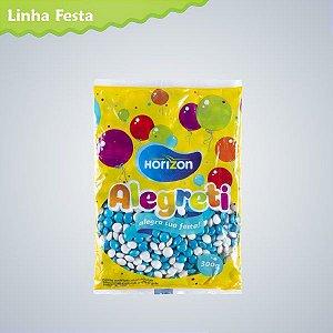 Pastilha Confeitada sabor Chocolate com 2 Cores 300g - Maricota Festas