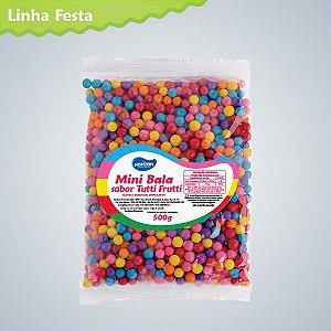 Mini Bala Tutti Frutti 500g - Maricota Festas