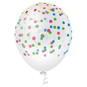 Balão CONFETE PICPIC c/ 25 Unid. - Maricota Festas