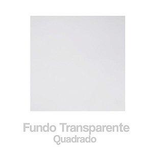 Fundo Decorado Incolor QUADRADO N7 c/100 Unid. (TAPETINHO) - MARICOTA FESTAS