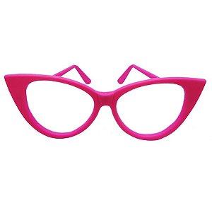 Óculos Gatinho Luxo Pacote com 10 Unid. Colorido - Maricota Festas