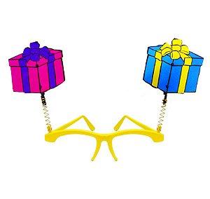 Óculos Presente com mola - Maricota Festas