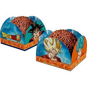 Porta Forminha Dragon Ball c/40Unid. - Maricora Festas