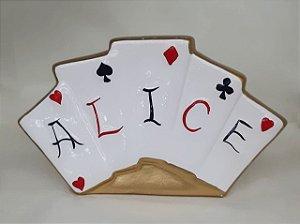 Cartas Alice Cerâmica - Maricota Festas
