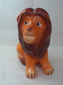 Leão Rei Cerâmica - Maricota Festas