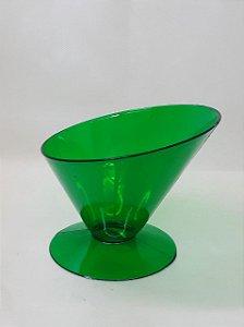 Taça Copacabana Verde Acrílica Mini  - Maricota Festas