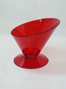 Taça Copacabana Vermelha Acrílica Mini - Maricota Festas