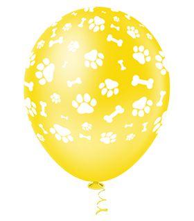 Balão Caninos Sortido PICPIC 10'' c/25 Unid. - Maricota Festas