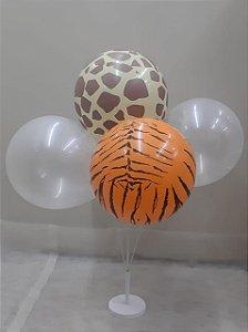 Suporte p/ balões c/ 5 varetas - Maricota Festas