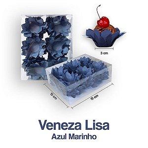 Forminha Veneza para Docinhos Azul MarinhO c/40 Unid. - Maricota Festas