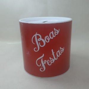 Tubo lata Kraft para Mini Panetone 10x10cm - Maricota Festas