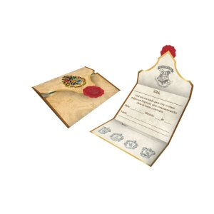 Convite Harry Potter C/8 Unidades - Maricota Festas