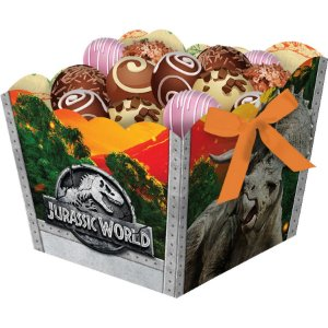 Cachepot Jurassic World c/8 Unid. - Maricota Festas