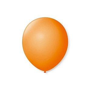 Balão LARANJA PICPIC C/50 Unidades. 7'' - Maricota Festas