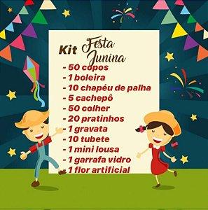 KIT FESTA JUNINA C/150 PEÇAS - MARICOTA FESTAS