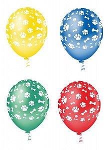 Balão canino SORTIDO PICPIC C/25Unidades - Maricota Festas