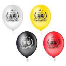 Balão BOTECO Sortido PICPIC 10'' c/25 Unid. - Maricota Festas
