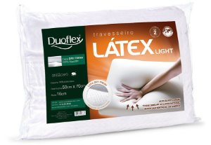 Travesseiro Látex Light Duoflex