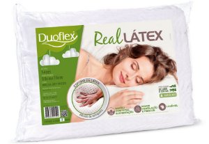 Travesseiro Real Látex Natural Duoflex
