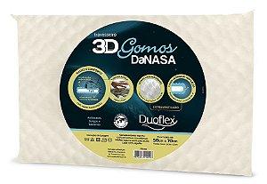 Travesseiro 3D Gomos DaNASA Duoflex