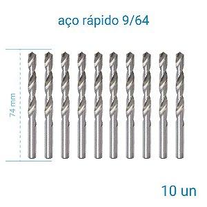 Broca A/R 9/64 Htom - 10 Unidades