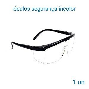 Óculos De Segurança Incolor Jaguar - 1 Unidade