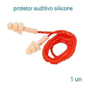 Protetor Auditivo De Silicone 3 M Pomp Plus - 1 Unidade