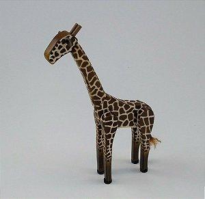 Girafa de Madeira Articulada