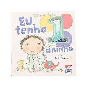 Livro Brilha e Agita: Eu tenho 1 Aninho