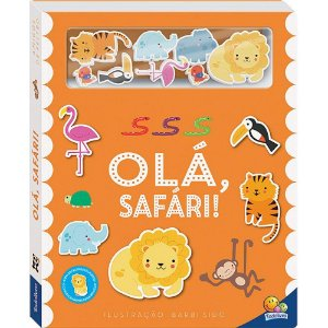 Livro Amigos de Feltro: Olá, Safari
