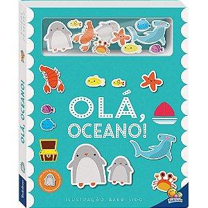 Livro Amigos de Feltro: Olá, Oceano