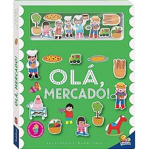 Livro Amigos de Feltro: Olá Mercado