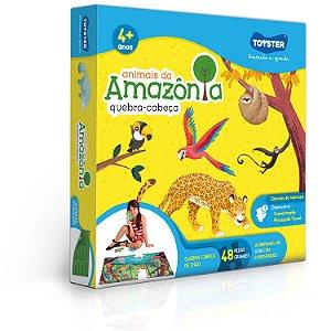Quebra-cabeça Animais da Amazônia