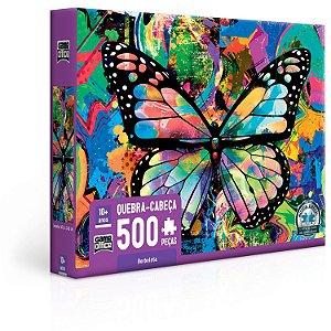 Quebra-cabeça Borboleta 500 peças