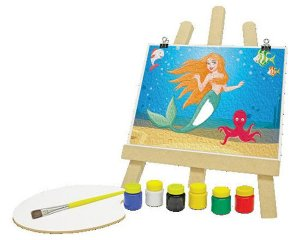Kit de Pintura - A Pequena Sereia