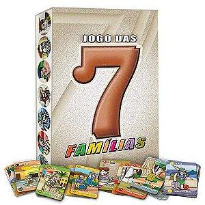 7 Famílias - Jogo educativo de Cartas