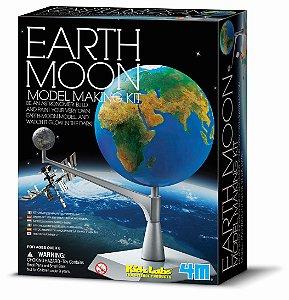 Kit Modelo Terra e Lua