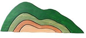 Quebra Cabeça 3D Montanha