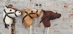 Cavalo de Pau Pelucia