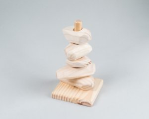 Torre de Encaixe - Modelo Pedras