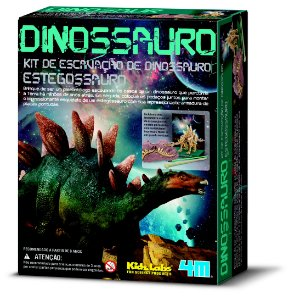 Kit de Escavação Dinossauro Estegossauro