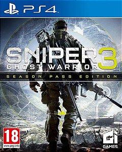 Sniper Ghost Warrior 3 Season Pass Edition [PS4]
