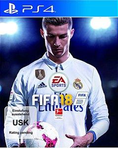 FIFA 18 - PS4 [Mídia Física]