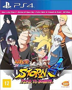 Naruto Shippuden Ultimate Ninja Storm 4 Road to Boruto - PS4 [Mídia Física]
