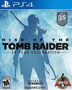 Rise of The Tomb Raider: Comemoração de 20 anos - PS4 [Mídia Física]