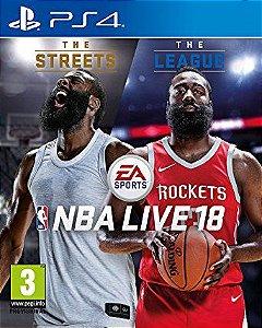 NBA Live 18 - PS4 [Mídia Física]