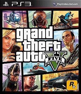 GTA V - PS3 [Mídia Física]